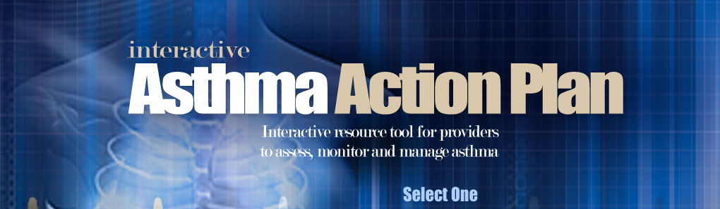 Website Title: Interactive Asthma Action Plan